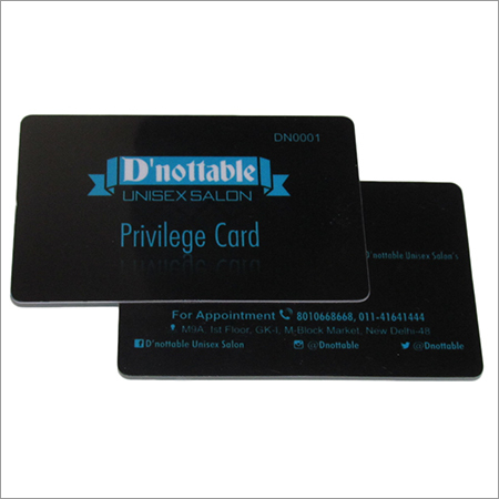 Privilege Cards