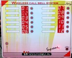 12 Users Call Bell System