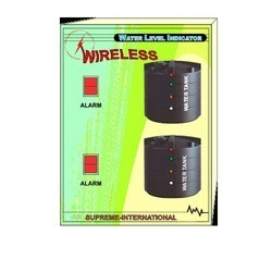 Wireless Water Level Indicator Double Tank