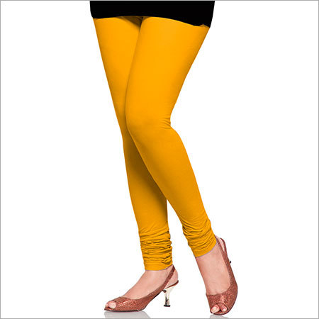 Yellow Color Leggings