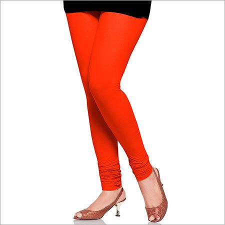 Orange Color Leggings