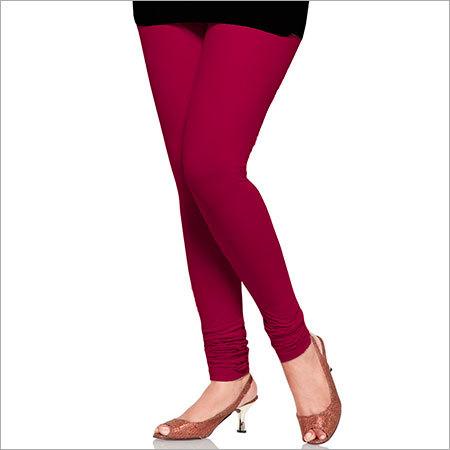 Dark Pink Color Leggings