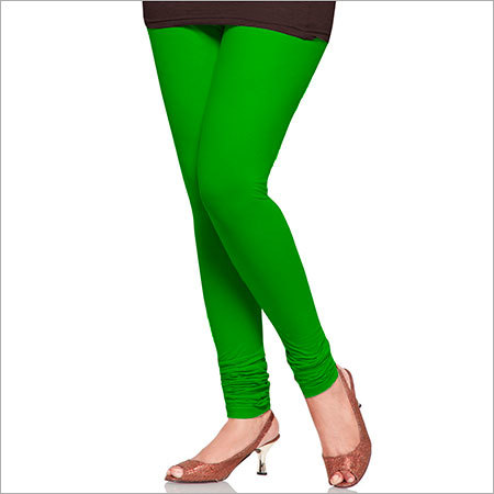 Green Color Leggings