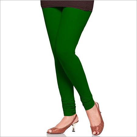 Dark Green Color Leggings