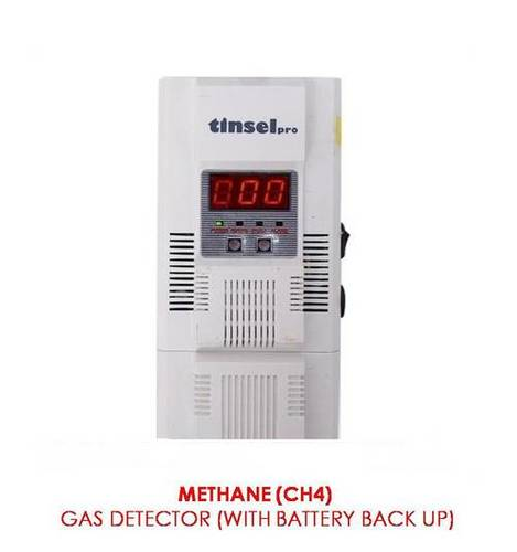 Methane Gas Leak Detector (With Battery Back Up)