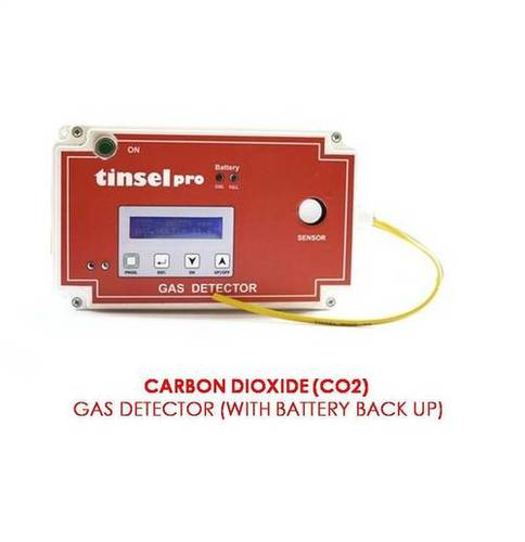CO2 Gas Leak Detector(With Battery Back Up)
