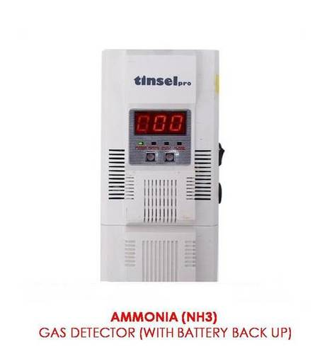 Ammonia Gas Leak Detector(With Battery Back Up)