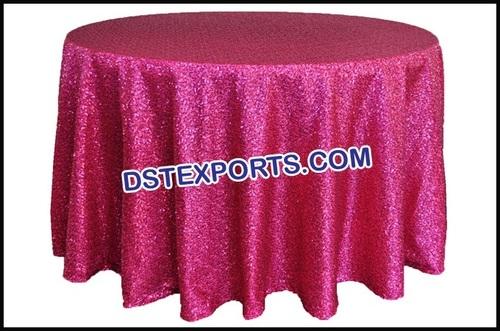 Sequin Tablecloth Wedding Cake Table Clothes