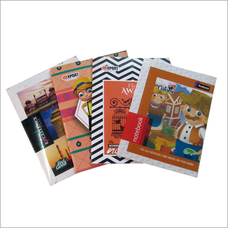 Printed Soft Cover Notebook