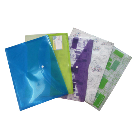 Clear Bag Folder