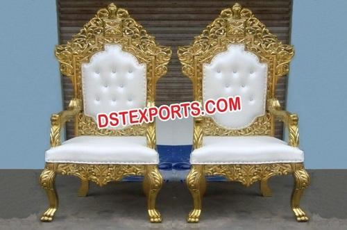 Wedding Royal Bride Groom Chairs