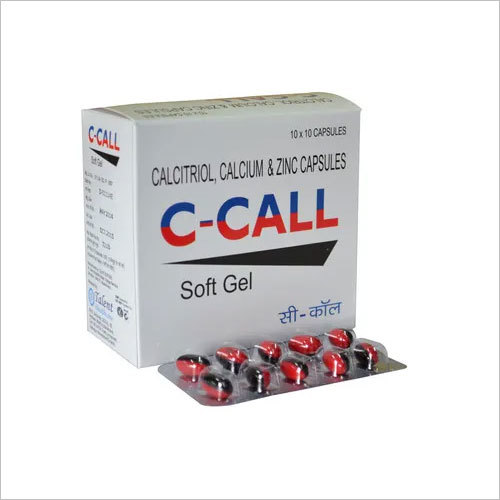 Calcitriol 0.25 mcg + Zinc 7.5 mg+ Calcium 500mg