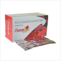 Ferrous Ascorbate 100 mg + Folic acid 1.5 mg + Zinc 7.5 mg