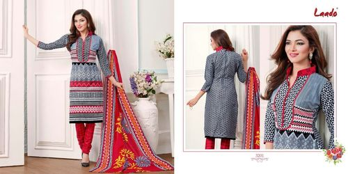 Laado  Cotton Printed Dress Material