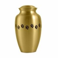 Brass Metal Pet Cremation Urn