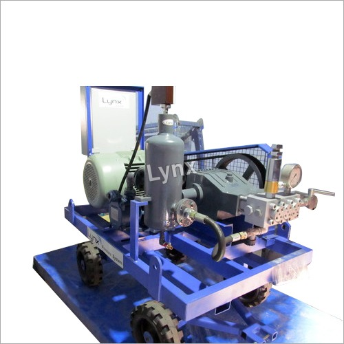 High pressure jet cleaning pump