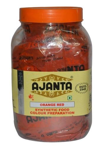 Orange Red Food Colour