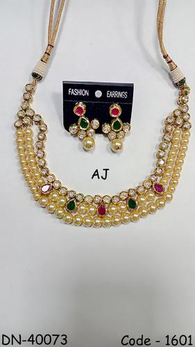 Pearl Kundan Necklace