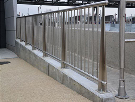 Stainless Steel Outdoor Stair Railing