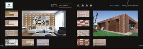 Digital Wall Tiles 250X500 mm
