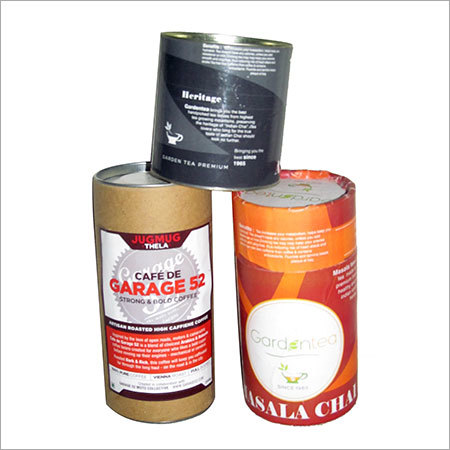 Tea Coffee Packaging Tubes