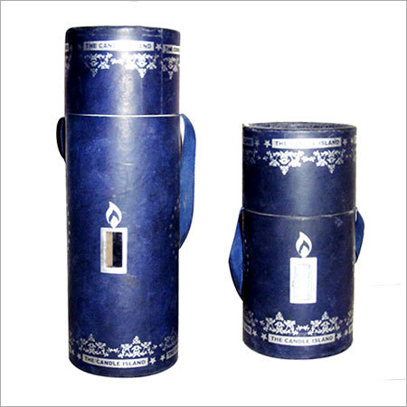 Paper Tube Container with Window