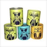 Printed Paper Tubes container