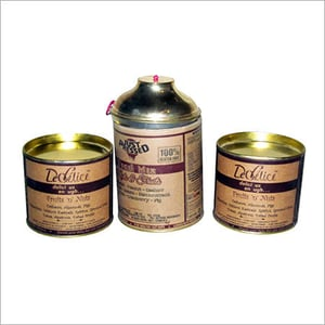 Dry fruits paper tubes container