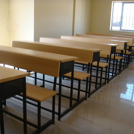 Class Room Table with Tubular Structure