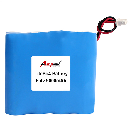 LifePo4 Battery 6.4v 9000mah