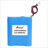 LifePo4 Battery 6.4v 4500 mah
