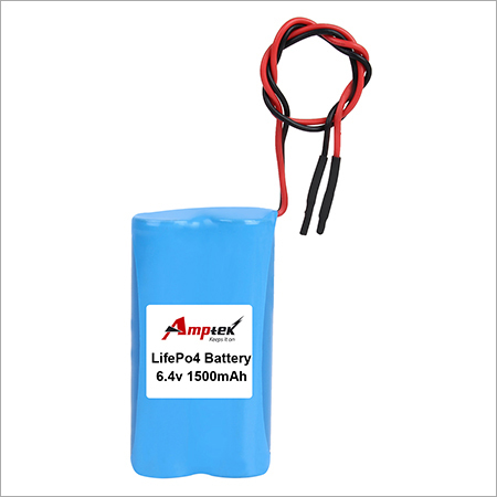 LifePo4 Battery 6.4v 1500mah