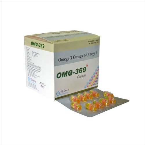 Omega 369 Liquid Filled Capsules