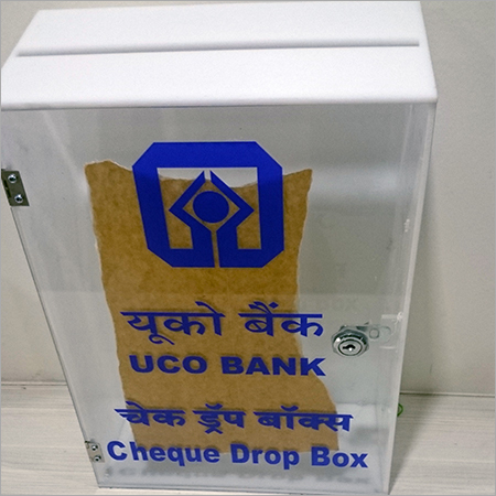 Cheque Drop Box