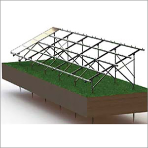 Solar Panel Ground Mounting Structure