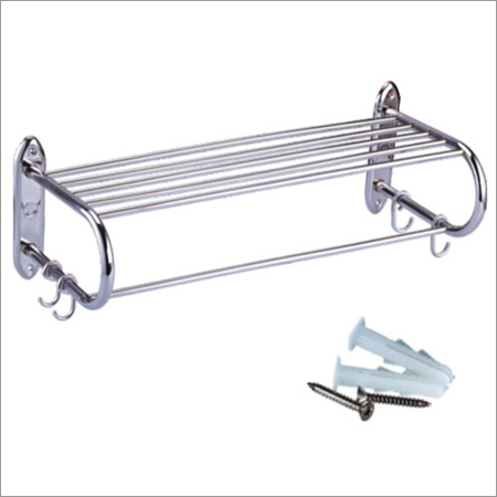 Towel Rack with Hooks