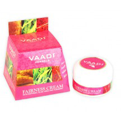 Fairness Cream with Saffron, Aloe Vera & Turmeric Extracts