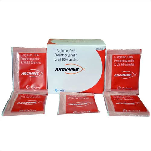 L-Argimine 3mg +DHA 20% 200mg + Proanthocyanidin 75mg + Vit. B6 3 mg