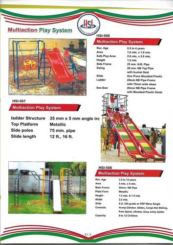 Multiaction Play Systems - 506