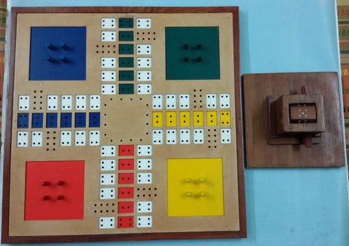 Ludo Board game in Braille