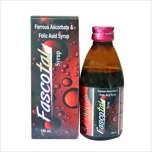 Ferrous Ascorbate 30 mg + Folic acid 1.5 mg + Zinc 7.5 mg 5 ml.