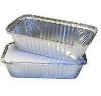 Aluminum Silver Foil Container