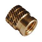 Brass Molding Insert Studded