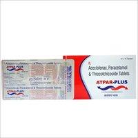 Aceclofenac 100 mg + Paracetamol 325 mg + Thiocholchicoside 4 mg