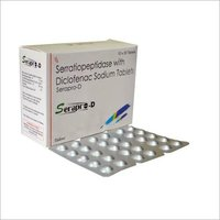 Serratiopeptidase 10mg+Diclofenac Sodium 50mg