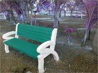 RCC Garden Bench Mould