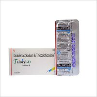 Diclofenac Sodium and Thiocolchicoside Tablets
