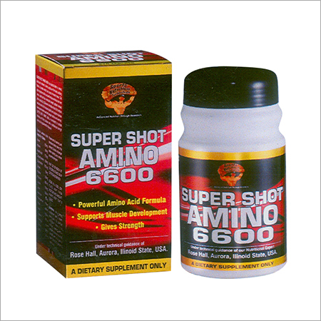 Super Shot Amino 6600 Dietary Supplement