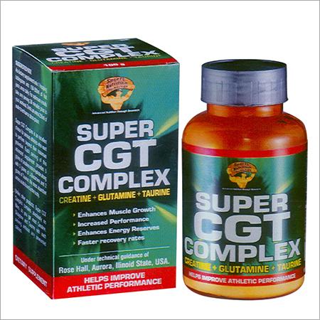 Super CGT Complex Creatine Glutamine Taurine