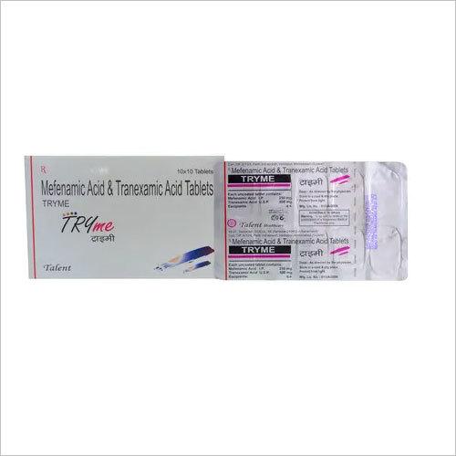Tranexamic acid 500 mg + Mefenamic acid 250